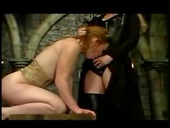 BDSM with a hot young redhead