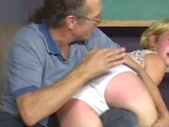 Spanked In White Panties Fun
