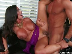 Step mom Ariella Ferrera wants young cock