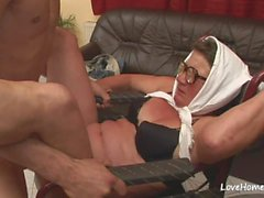 Old woman is still skilled at cock pleasing.mp4