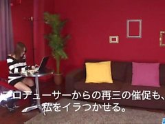 Cute Rino Mizusawa enjoys her new toy inside the pussy