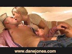 DaneJones Creampie for amazing young GF