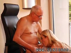 Old man young girl sex skinny Paul rock-hard drill Christen