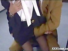 Rough Asian Sex And Facial