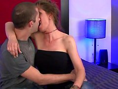 Sexy Milf Miss Trixie Sex With Young Cable Guy