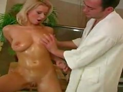girlyflirts - Euro Blonde Takes A Cock Instead Of A Shower