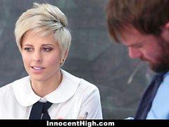 InnocentHigh - Shy Teen Opens Up For Teacher