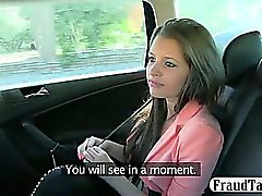 Russian amateur teen gets in the wrong taxi and gets exploited