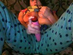 Clothing Fetish Masturbation Through Pants WebcamShow