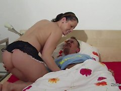 Step-Daughter get fucked by Step-Dad because she is Nurse