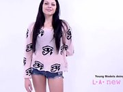 Brunette fucked by photographer at casting audition agent