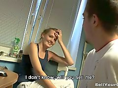 Doll girlfriend gets drilled for money