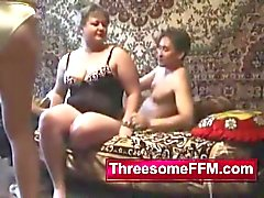 Young Guy Fucking Two Russian Ladies
