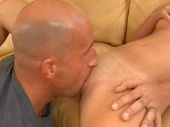 Sandy gets pounded in her tight snatch