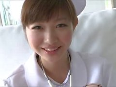 softcore asian nurse tease