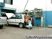 Latin gf night drive backseat sex part3