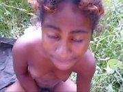 black teen from blackscrush fucked outdoors