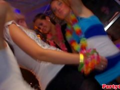 Amateur euroteen party with upskirt babes