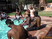 Cum soaked teen blacked