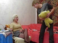 granny love her little boy