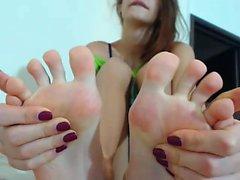 Redhead foot fetish