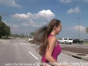 Naked in Public Short Skirt