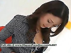 Risa teen Chinese girl gives a amazing blowjob to her guy