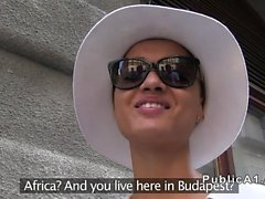 African model fucking in aprtment