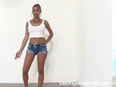 Casting Couch HOT Black Teen Dana TWERK QUEEN PMV