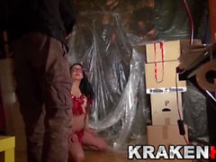 Krakenhot Casting with a hot brunette young girl. Part 1