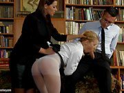 Cindy Hope is a naughty schoolgirl who needs to be punished
