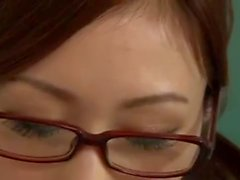 beautiful japanese school teacher