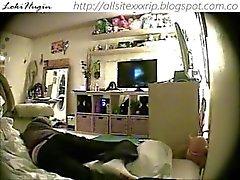 teen caught masturbating in bedroom (hidden cam - peepholecam 111312)