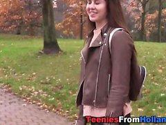 Dutch teen facialized
