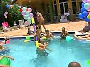 Almost everyone is naked at this pool party