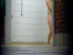 Girls taking a shower - Voyeur