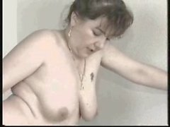 german bbw plump mature fucked in the living room