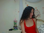 young escort was changing webcam escort estaba cambiando
