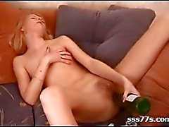skinny hairy russian blonde