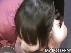 Chisa Nagata - Charming 18yo Japan Teen Doggy Style Fucking