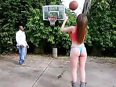 Teen railed by black cock