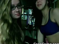 Eva Lader and friends cam play