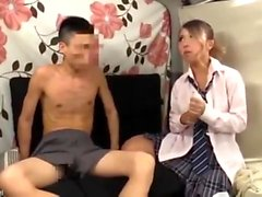 Asian college girl rubs hairy pussy