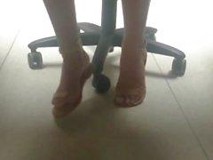 New Friend's Candid Beautiful Feet 6