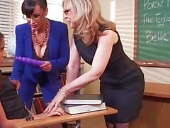 SCHOOL OF SEX 2 Best sex ever with Lesbian Teachers