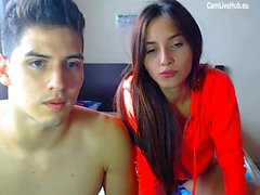 hot teen gets fucked for money on webcam