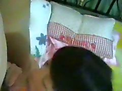 Amateur Chinese MILF and Daughter Threesome 4