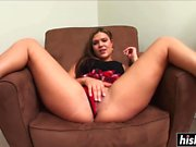 Sexy babe needs more than a toy