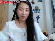 Hot Asian Webcam Teen Playing