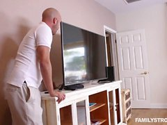 Hot doggystyle Sierra Nicole bends over